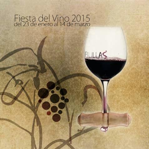 Programa completo de las Fiestas del Vino de Bullas 2015