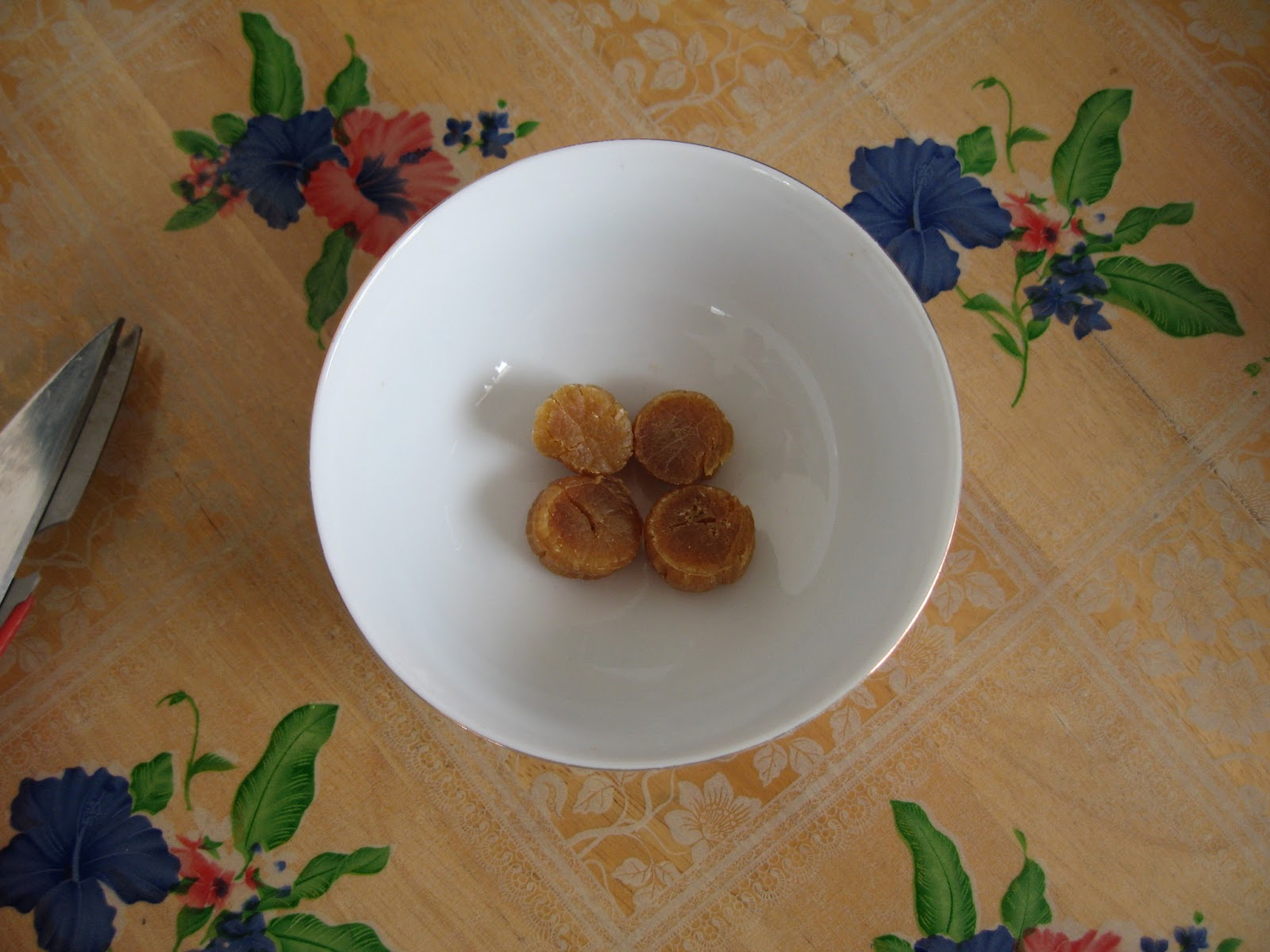 how to cook dried scallop porridge