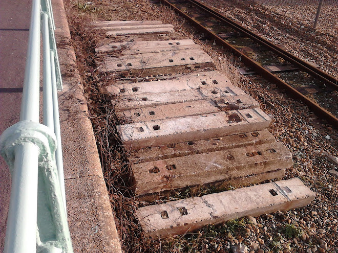 Beautiful concrete sleepers!