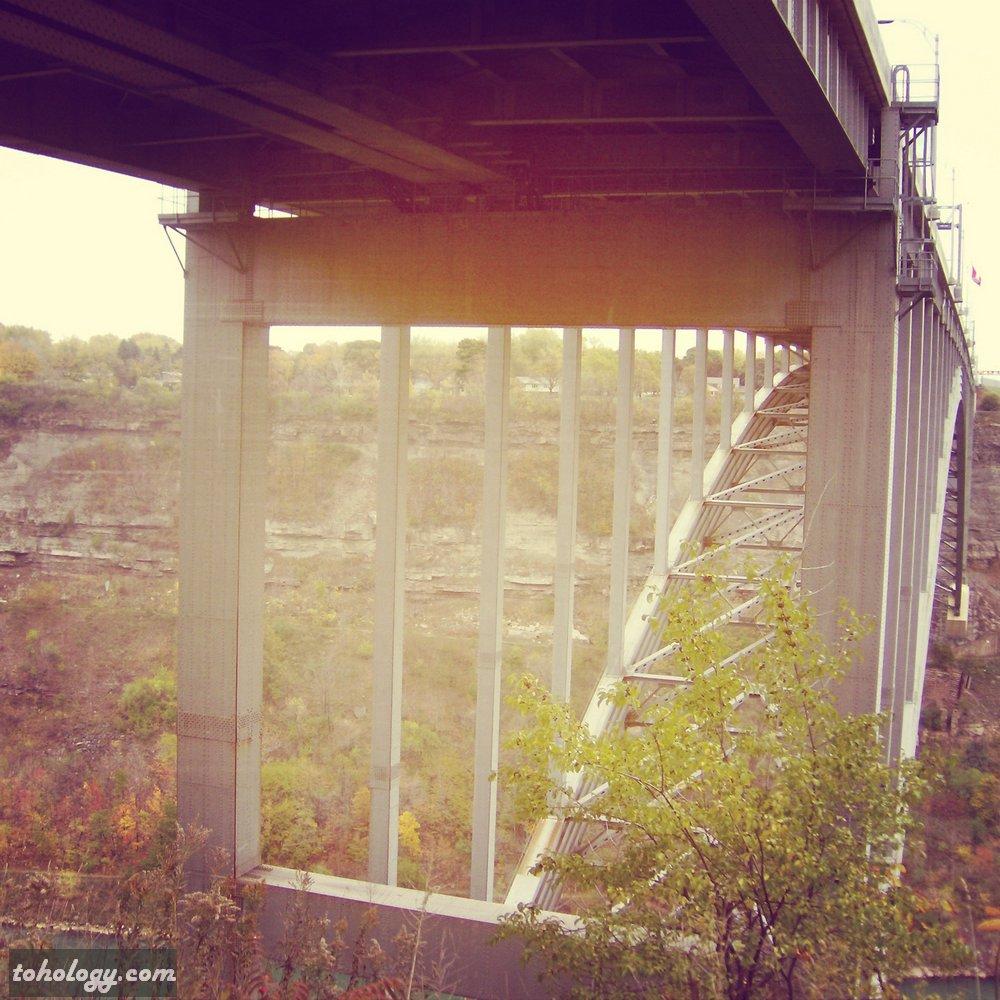 Canada bridge border