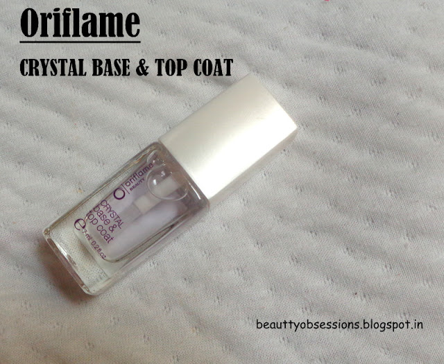 Oriflame Crystal Base and Top Coat Review