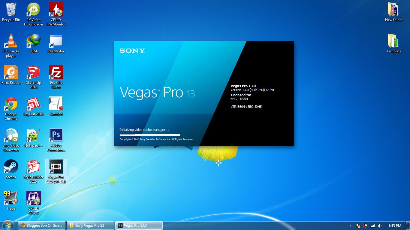 sony vegas pro 13 full patch 64 bit