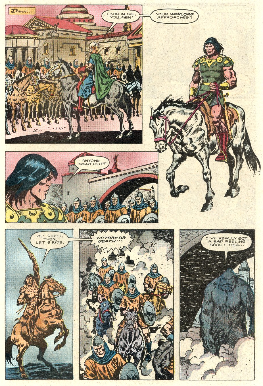 Conan the Barbarian (1970) Issue #184 #196 - English 10