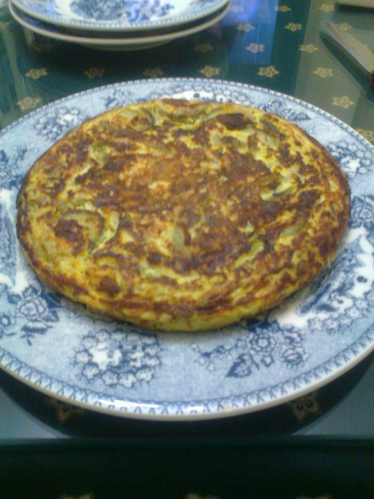 El rincon de mi cocina tortilla de calabacin y cebolla - Tortilla de calabacin y cebolla ...