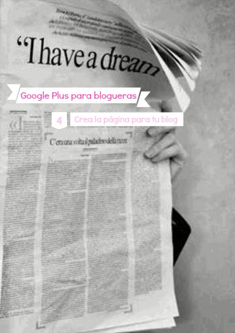 Crea la página para tu blog en Google Plus
