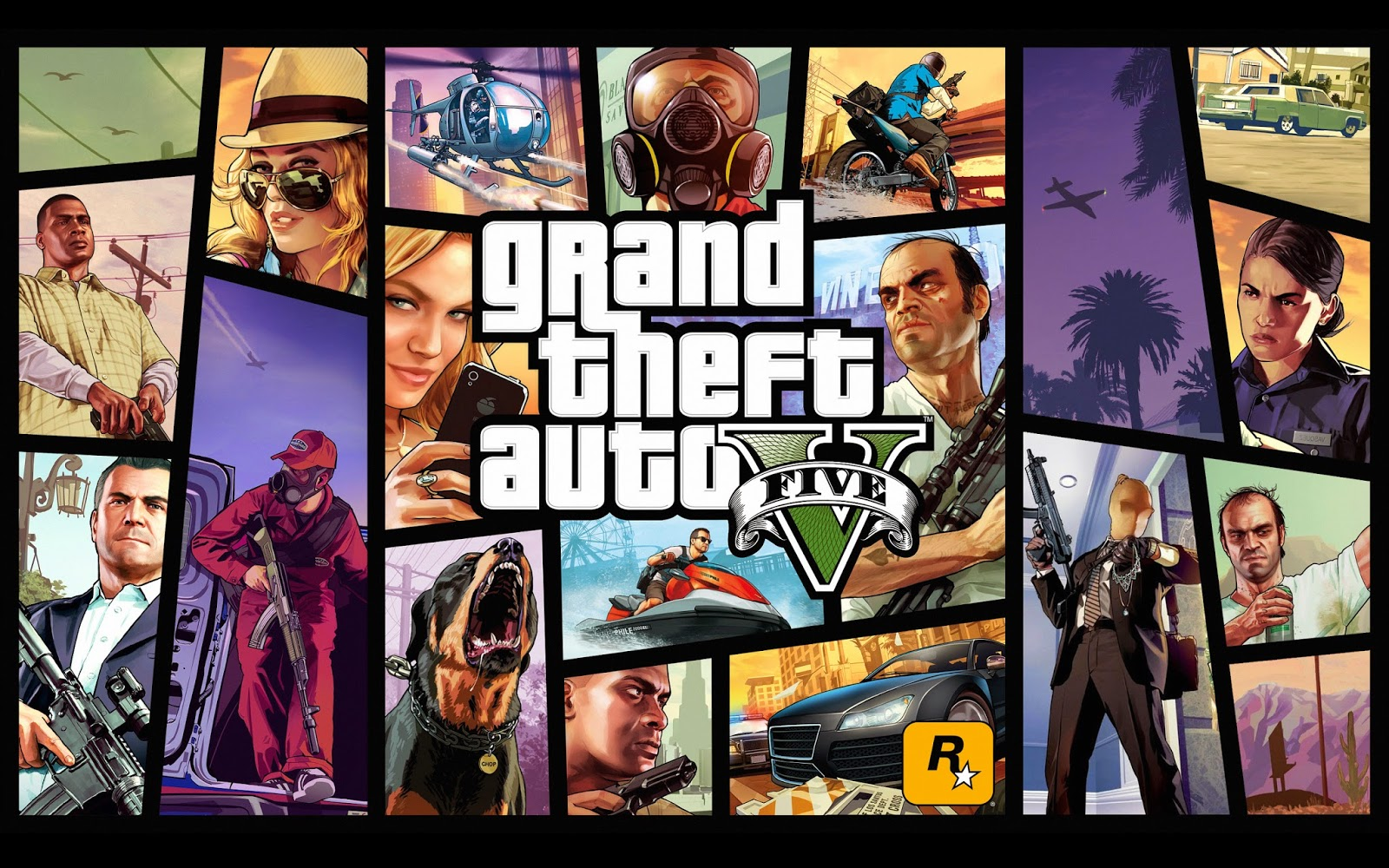 (GTA V) Grand Theft Auto 5 FULL DOWNLOAD + Crack TORRENT