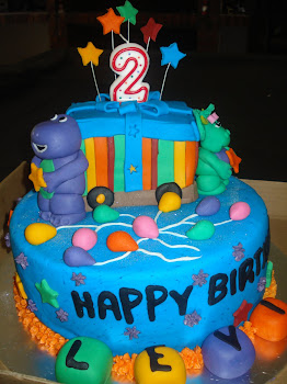 Barney Cake