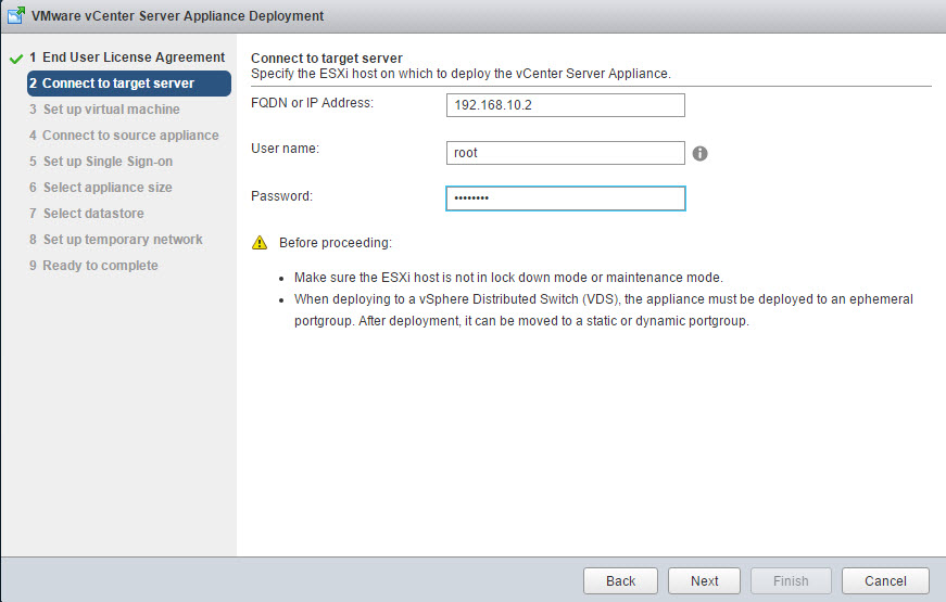 how to get esxi host version
