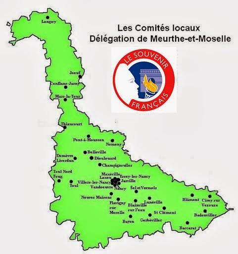 La Carte des Comités Locaux
