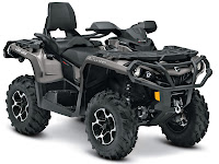 2013 Can-Am Outlander MAX XT 650 ATV pictures 1