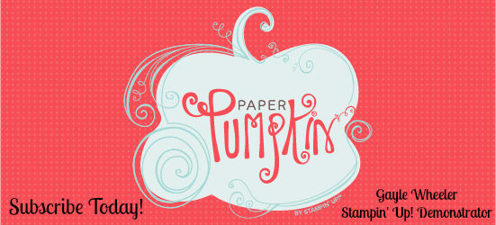 My Paper Pumpkin by Stampin' Up!