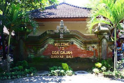 Welcome to Goa Gajah Gianyar Bali Indonesia