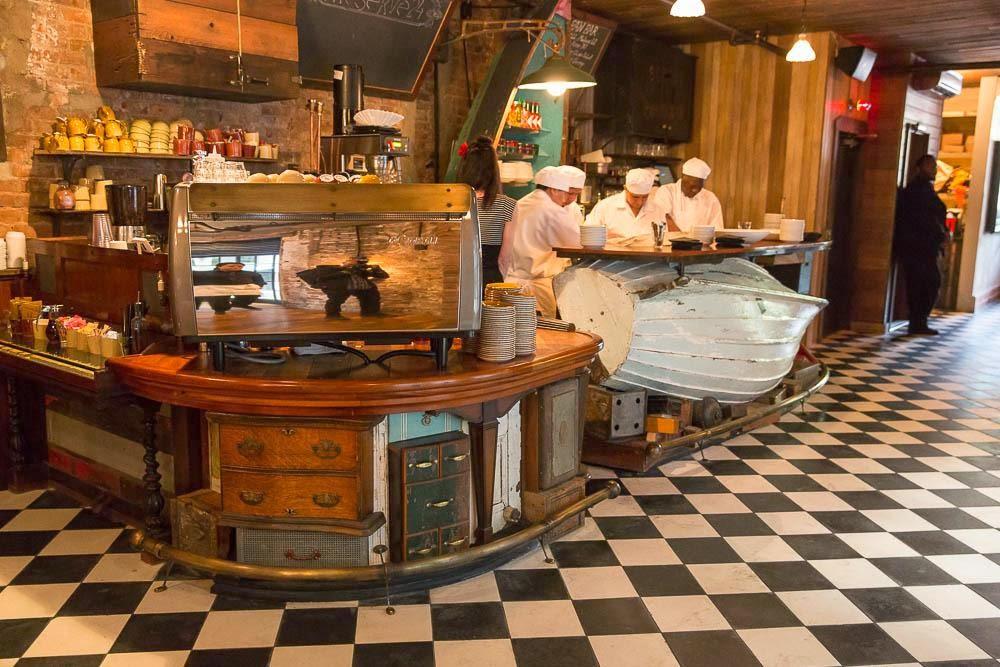 Mibarquitodepalet restaurante con material de reciclaje - Material para bares ...