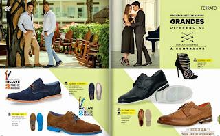 Ferrato catalogo de zapatos  Andrea caballeros verano 2015