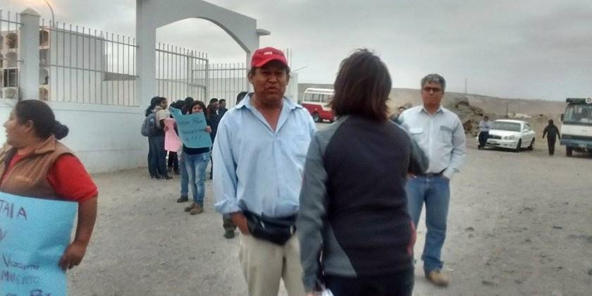 GRUPO INICIATIVA ANTICORRUPCION ILO: FOTOS: Agreden a periodistas de ...