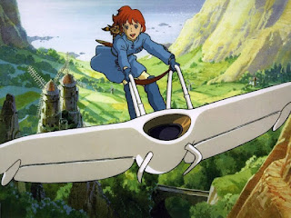 Princesa Nausicaä, personagem da animação japonesa (anime) Nausicaä do Vale do Vento