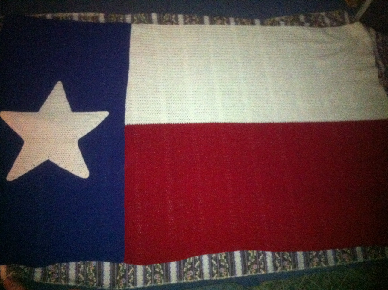 Texas Flag Blanket | DKB Crochet Works: Unique Gifts With A Personal ...