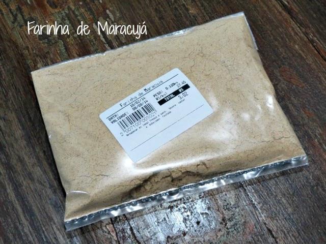 Farinha de Maracujá