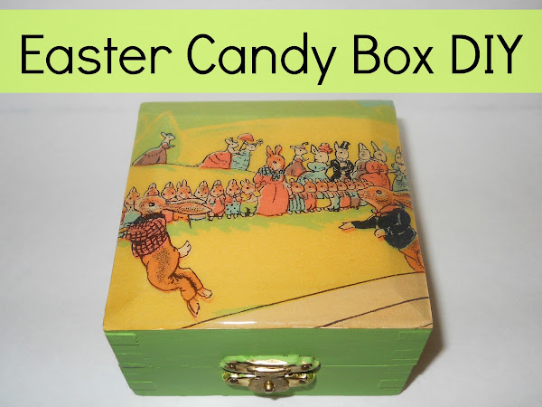 Easter Candy Box DIY