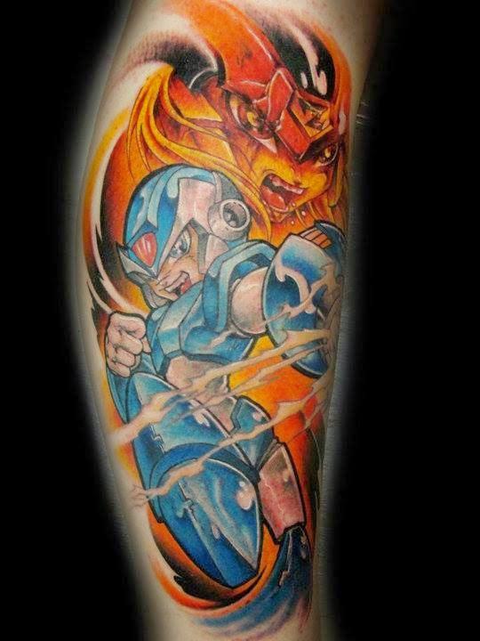 Tatuaje Megaman