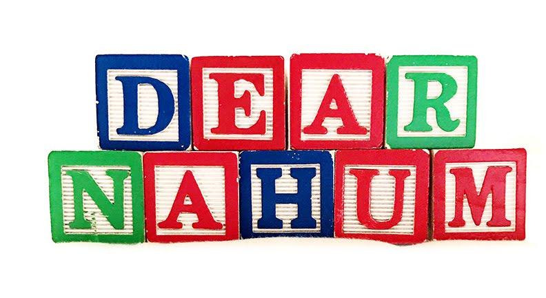 dear nahum