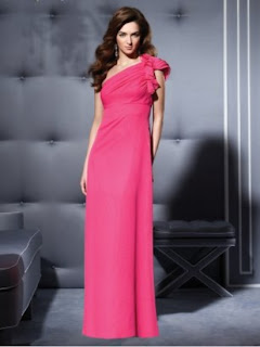 One Shoulder Evening Gowns