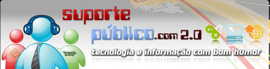 Suporte Público - Tecnologia e Informação com bom humor