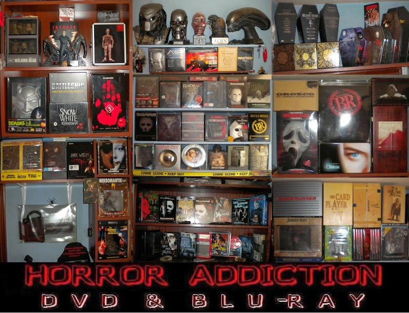 HORROR ADDICTION DVD & BLU-RAY