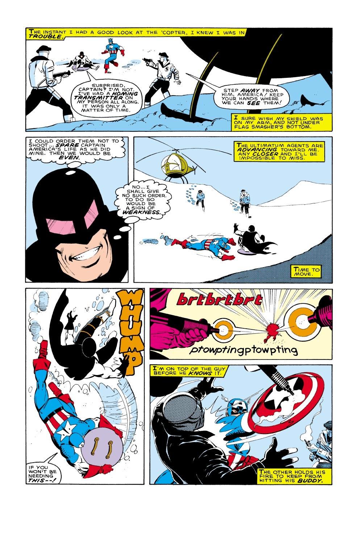 Captain America (1968) Issue #322 #250 - English 19