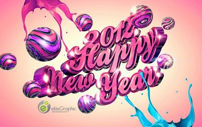Imagen de wallpapers para el nuevo año 2012