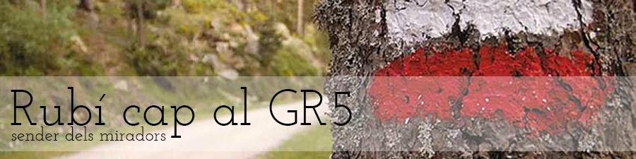 Rubí cap al GR5