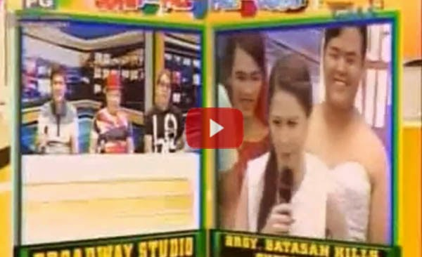 """Hindi kami Madlang Pipol, Dabarkads. Ano ka ba?!"" - Marian Rivera corrects her Suffer Sireyna counterpart on Eat Bulaga"