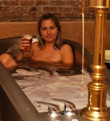 Khodova Plan, located in the Czech Republic, is a paradise for beer lovers. This place was amazing, you not only can drink but you can swim and take a bath with the beer !