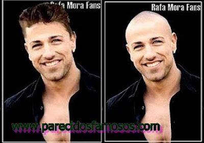 Rafa Mora foto antes y después