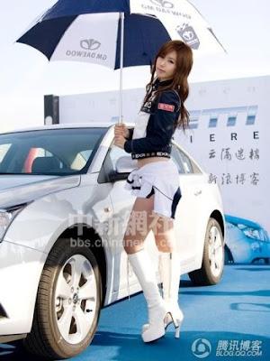 韓國十大 人氣車模
