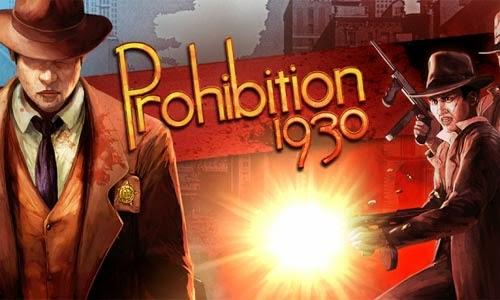 غلاف لعبة اطلاق النار حرب المافيا حظر Prohibition 1930