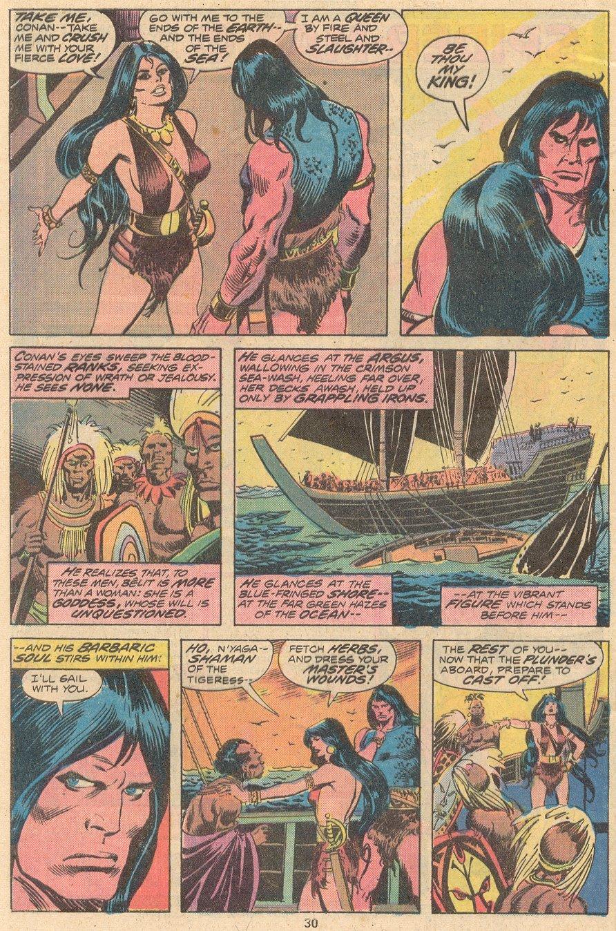 Conan the Barbarian (1970) Issue #58 #70 - English 21