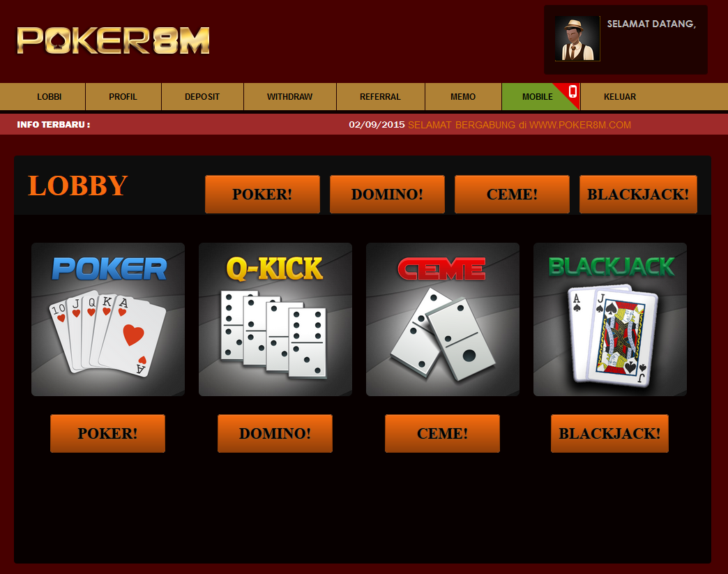 99 domino poker on line uang asli