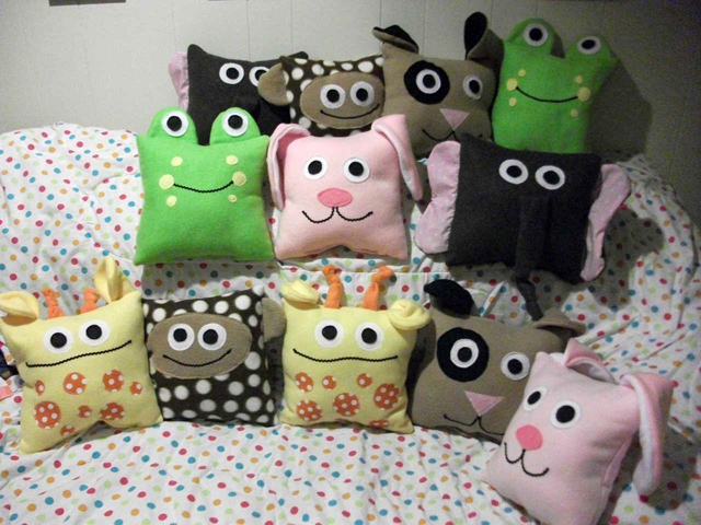 children floor decorative collections beep pillows for large throw by tent and s little boys pillow parade cute company playroom kids cushion