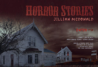 jillian mcdonald, horror stories, julie gill, thinkfinity, web project, horror film