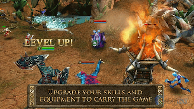 3 Game Mirip DotA PC Offline di Android