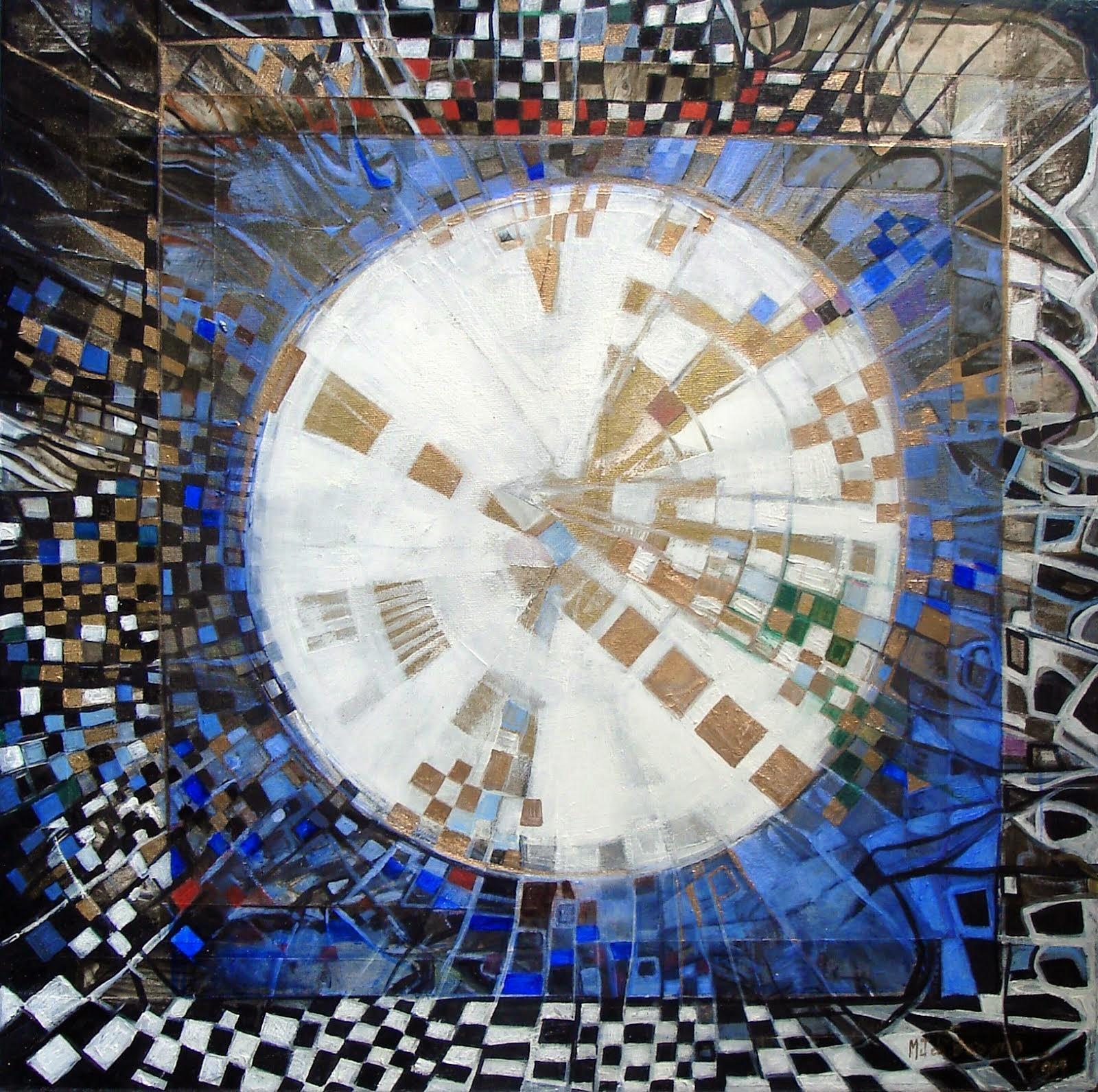 Lune blanche - 50 x 50 cm - 2014