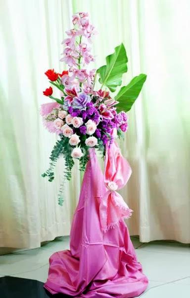 toko bunga standing flowers bagus dan elegant