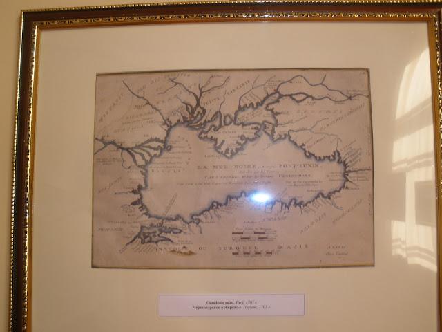 Ларишес. Карты Крыма