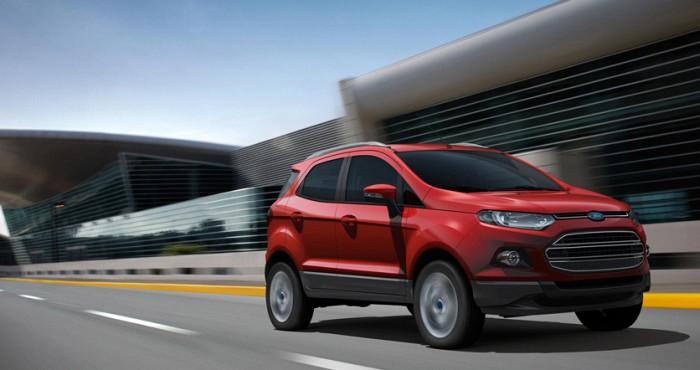 car i Ford Ecosport 2014