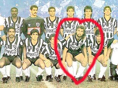 Paulinho Criciúma:  um heroi do Botafogo