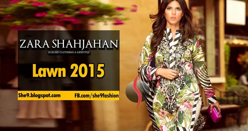 Zara Shahjahan Spring Summer Lawn Designs