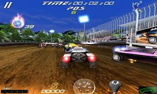 Screenshots of the Rally cross: Ultimate for Android tablet, phone.