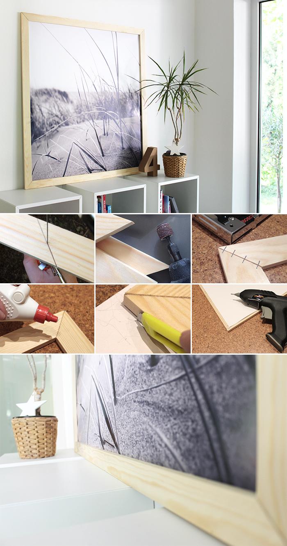 Do it yourself: Holzrahmen ganz leicht selbst bauen.