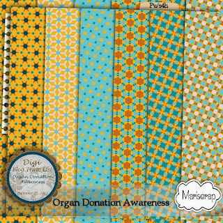 Organ Donation Awareness Blog Train Freebie